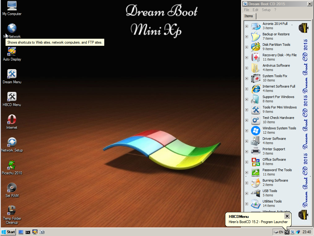 Dream Boot CD 2015 By Computer Media Corporation | Welcome