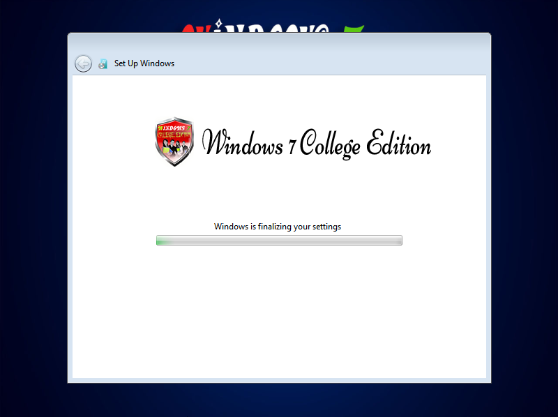 Windows 7 College Edition 2017 Lite x64 Bit By C.M Team ...